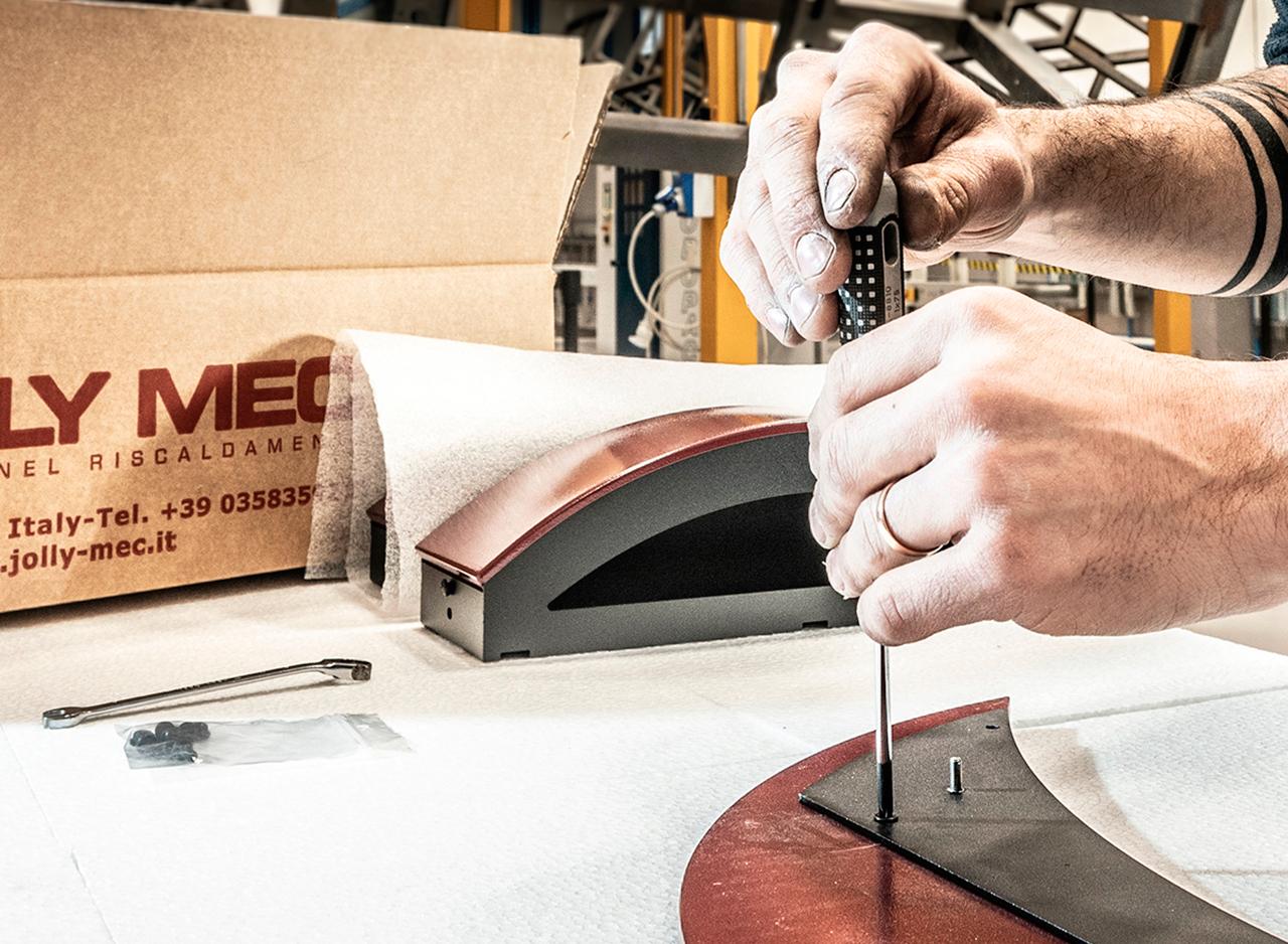 Verniciatura industriale a polvere e serigrafia